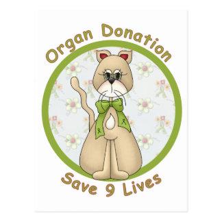 Sauvez les 9 vies carte postale