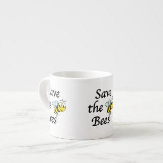Sauvez les abeilles tasse expresso