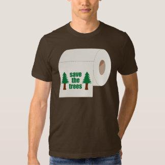 Sauvez les arbres t-shirt