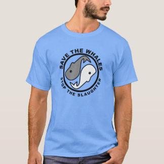 Sauvez les baleines - droits des animaux t-shirt