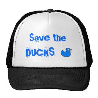 Sauvez les canards casquettes de camionneur