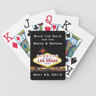 Sauvez les cartes de tisonnier de Las Vegas de Jeu De Cartes