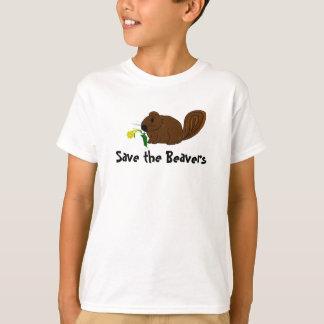 Sauvez les castors t-shirt