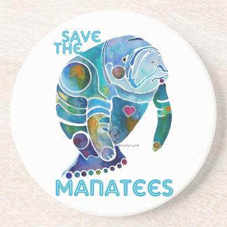 Sauvez les dessous de verre de lamantins