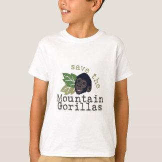 Sauvez les gorilles de montagne t-shirt