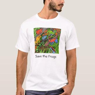 Sauvez les grenouilles t-shirt