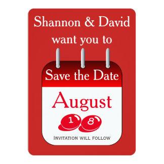 Sauvez les invitations de date
