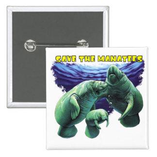 Sauvez les lamantins badges