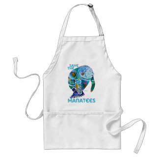 Sauvez les lamantins bleus tablier