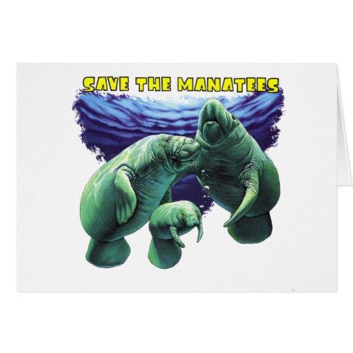 Sauvez les lamantins carte