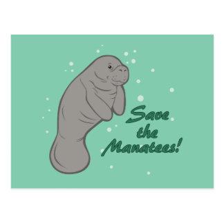 Sauvez les lamantins ! cartes postales