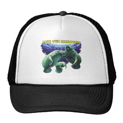 Sauvez les lamantins casquettes