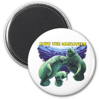 Sauvez les lamantins magnets
