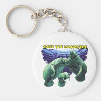 Sauvez les lamantins porte-clé