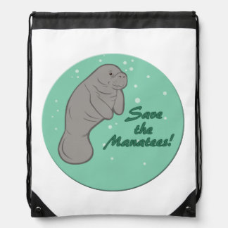 Sauvez les lamantins ! sacs à dos