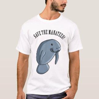 Sauvez les lamantins ! t-shirt