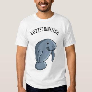 Sauvez les lamantins ! t-shirts