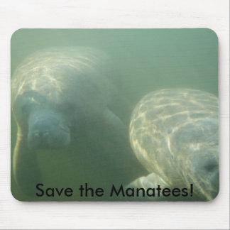 Sauvez les lamantins ! tapis de souris