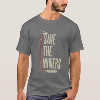Sauvez les mineurs chiliens t-shirt