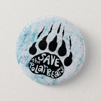 Sauvez les ours blancs badge