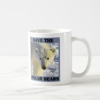 Sauvez les ours blancs mug