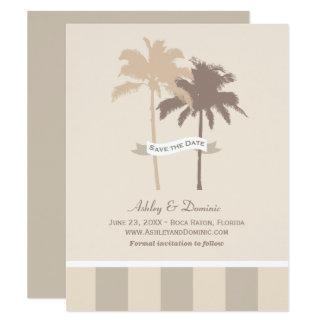 Sauvez les palmiers de la carte de date |