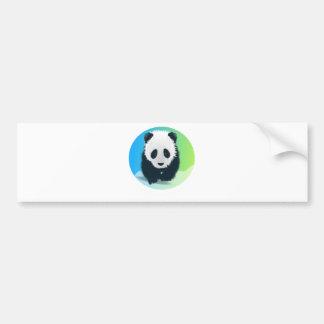Sauvez les pandas autocollant de voiture