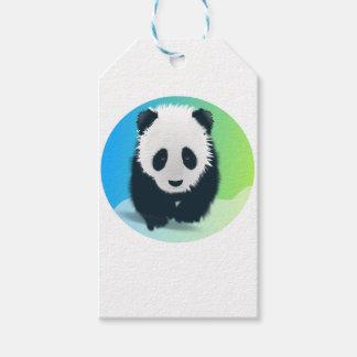 Sauvez les pandas étiquettes-cadeau