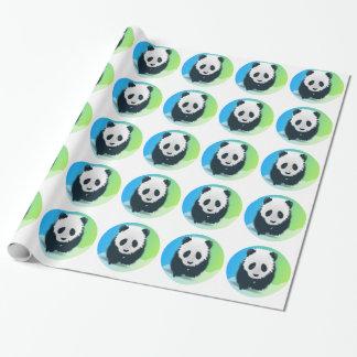 Sauvez les pandas papier cadeau