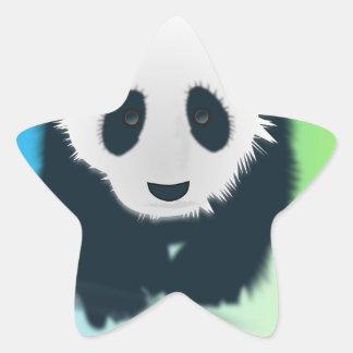 Sauvez les pandas sticker étoile