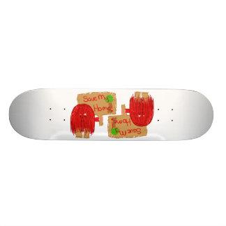 sauvez ma maison plateaux de skateboards customisés