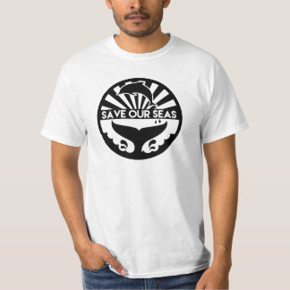 Sauvez nos mers - la chemise des hommes t-shirt