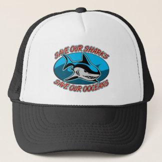 Sauvez nos requins casquette