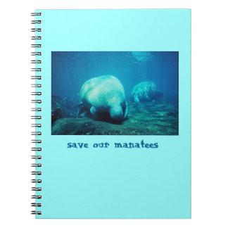Sauvez notre carnet de lamantins