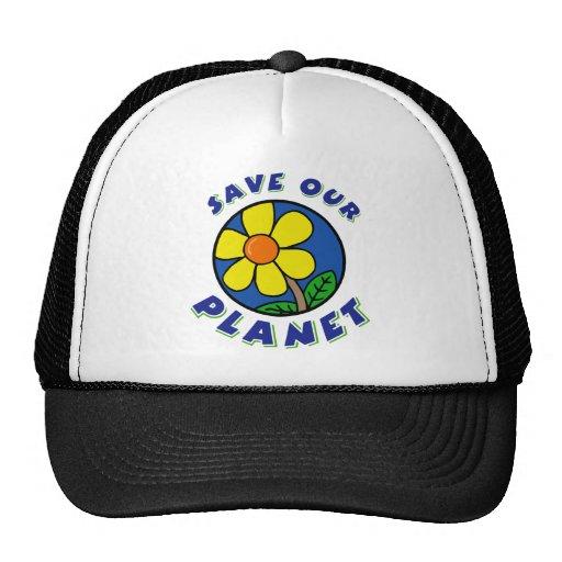 Sauvez notre planète casquettes