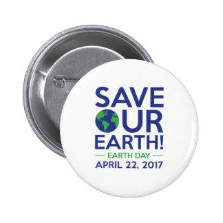 Sauvez notre terre badges