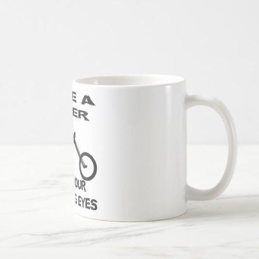 Sauvez un cycliste ouvrent vos yeux de Fracking Tasse À Café