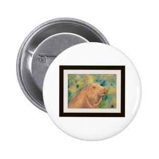 Sauvez un lamantin badge avec épingle