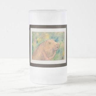 Sauvez un lamantin mugs à café