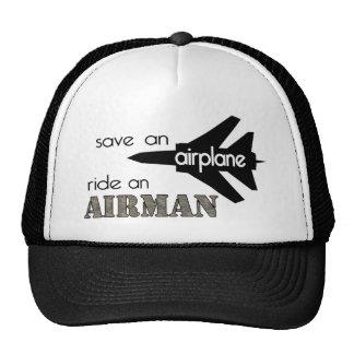 Sauvez un tour d'avion un casquette d'aviateur