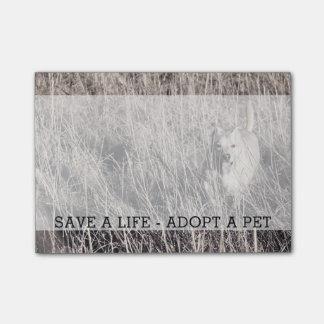 Sauvez une vie adoptent un nom fait sur commande