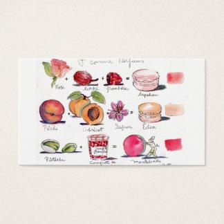 Saveurs de Macaron par Carol Gillott Cartes De Visite