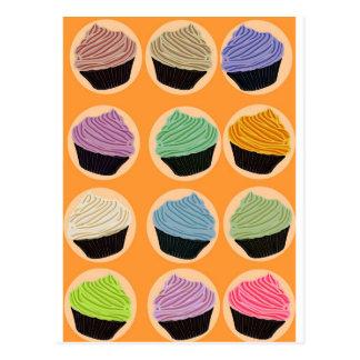 Saveurs de petit gâteau carte postale