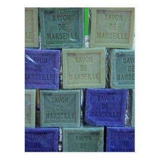 Savon De Marseille Carte Postale