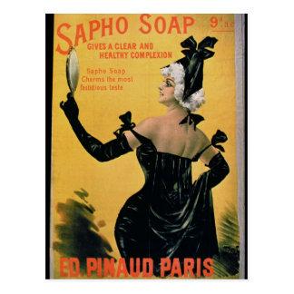 'Savon de Sapho - donne un teint clair et sain Carte Postale