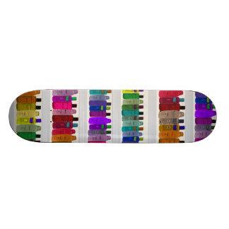 Savonnez l'arc-en-ciel de bouteille - pour les sal skateoard personnalisé