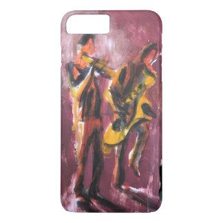 Saxo and trumpet paire coque iPhone 7 plus