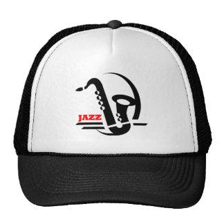 Saxo de jazz casquettes de camionneur