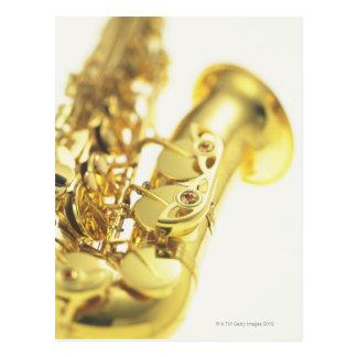 Saxophone 3 carte postale