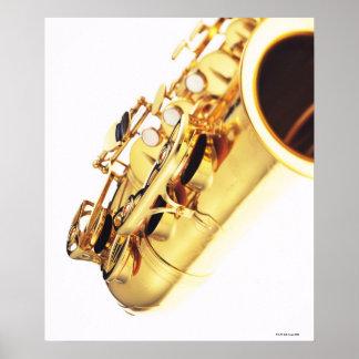Saxophone 3 poster